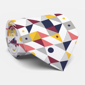 modern memphis pattern tie