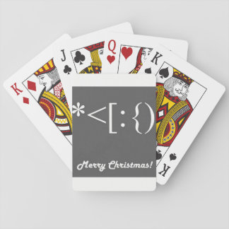 ***MODERN MERRY CHRISTMAS***  PLAYING CARDS