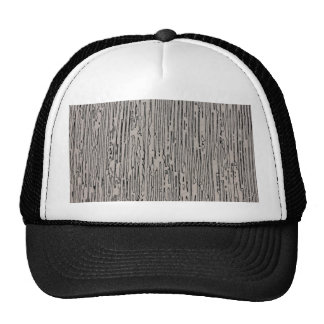 Modern metal static style design in silver grey. hat