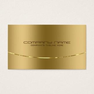 Modern Metallic Gold Design Stainless Steel Look