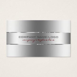 Modern Metallic Silver Design Stainless Steel Look