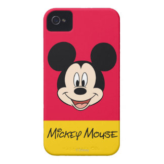 Modern Mickey | Smiling Head iPhone 4 Cover