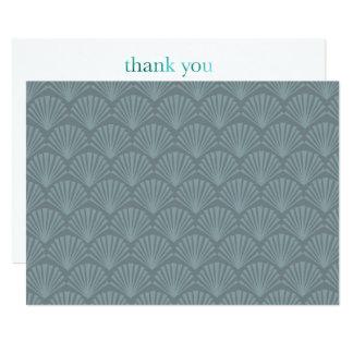 Modern Midcentury Thank You Card