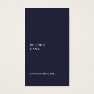 Modern Minimal Elegant Textured Blue Consultant Business Card
