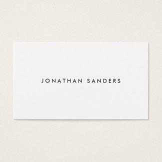 MODERN & MINIMAL No. 1 Business Card