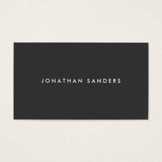 MODERN & MINIMAL No. 2 Business Card