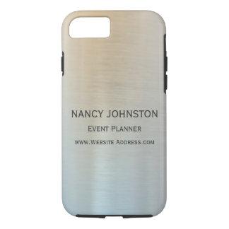 Modern Minimalist Silver Reflection iPhone 8/7 Case