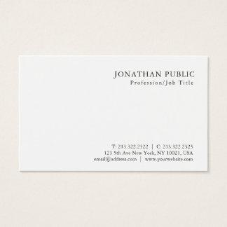 Modern Minimalistic Professional Classy Design Business Card