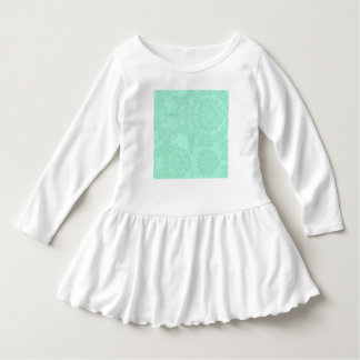 Modern Mint Damask Wedding Customize T-shirt