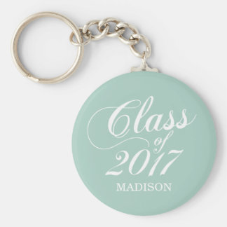 Modern Mint | Graduation Key Ring