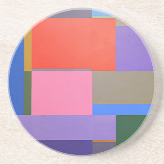 Modern/Mondrian Art Coaster
