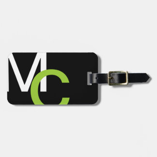 Modern Monogram 23 Luggage Tag