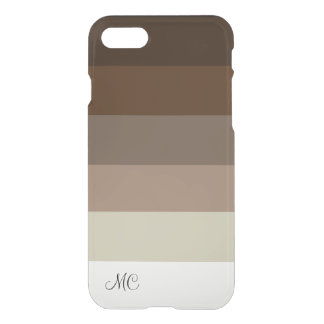 Modern Monogram Design iPhone 8/7 Case