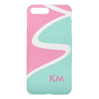Modern Monogram Geometric Designg iPhone 8 Plus/7 Plus Case