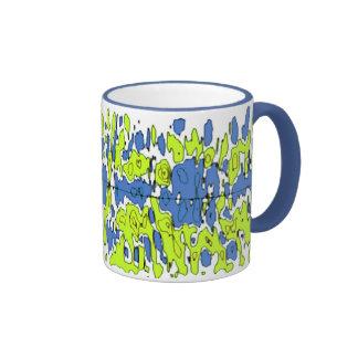 Modern Morning Camo Ringer Mug