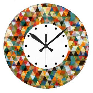 Modern Mosaic Design Large Clock