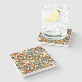 Mosaic drink beverage coasters - Stone coasters for drinks ...
