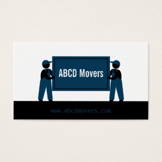 Modern Mover Transport Services Logistics Company Business Card