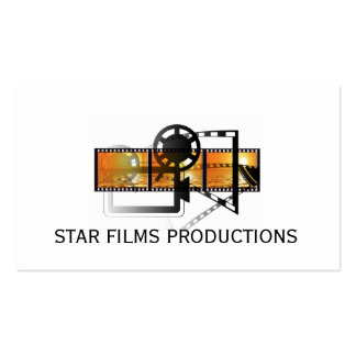 Modern Movie Director Film Producer Pack Of Standard Business Cards