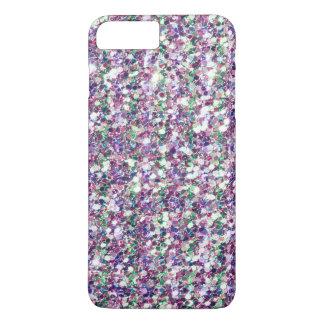 Modern Multicolor Glitter Texture Print iPhone 8 Plus/7 Plus Case