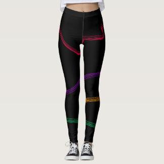 Modern Multicolor Wonderland Leggings