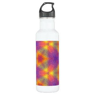 Modern multicolored pattern 710 ml water bottle