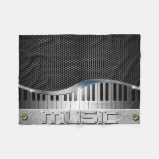 Modern Music Small Fleece Blanket