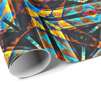 Modern Native American 18 Wrapping Paper