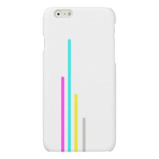 Modern neon stripes pattern