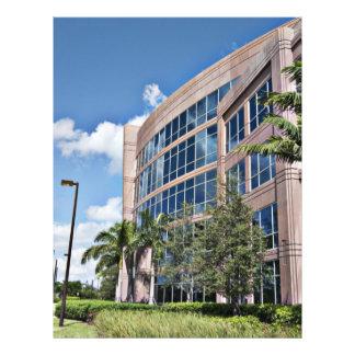 Modern Office Building Architecture 21.5 Cm X 28 Cm Flyer