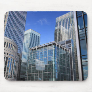 Modern Office Buildings Mouse Pad