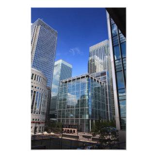 Modern Office Buildings Photo Art