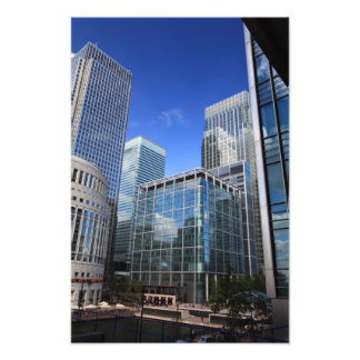 Modern Office Buildings Photographic Print