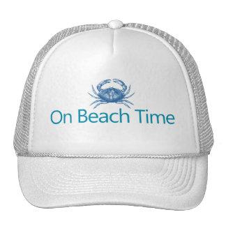 "Modern ""On Beach Time"" Cap"