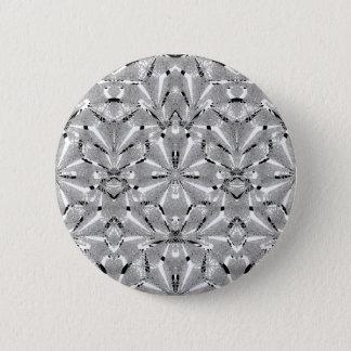 Modern Oriental Ornate 6 Cm Round Badge