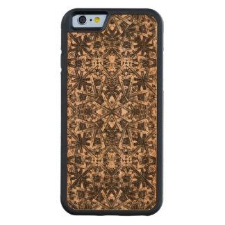 Modern Oriental Pattern Carved Cherry iPhone 6 Bumper Case