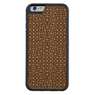 Modern Oriental Pattern Carved Cherry iPhone 6 Bumper Case