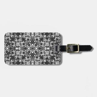 Modern Oriental Pattern Luggage Tag
