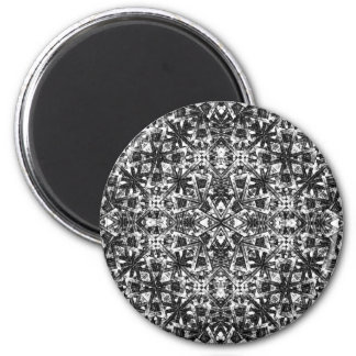 Modern Oriental Pattern Magnet