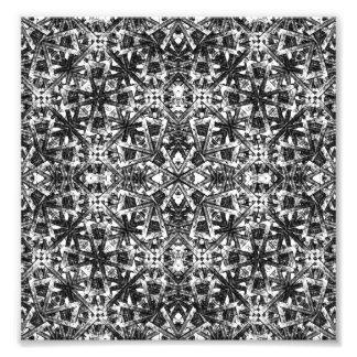 Modern Oriental Pattern Photo Print