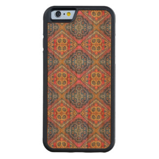 Modern Ornate Pattern Carved Cherry iPhone 6 Bumper Case