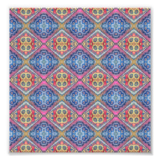 Modern Ornate Pattern Photo Print
