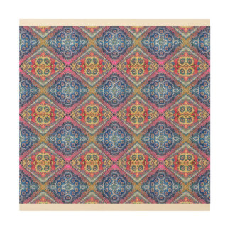 Modern Ornate Pattern Wood Print