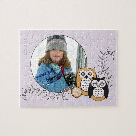Modern Owls Photo Puzzle