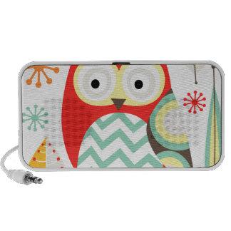 Modern Owls iPod Speakers