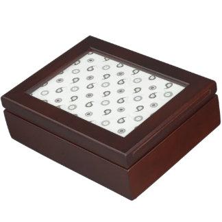 Modern Paisley Keepsake Box