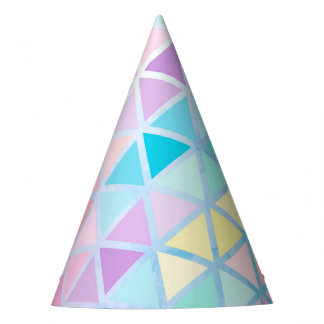 Modern Pastel Party Party Hat