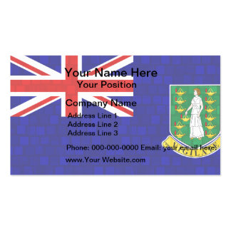 Modern Pattern B.V. Islander Flag Business Card