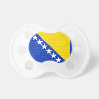 Modern Pattern Herzegovian Flag Baby Pacifiers