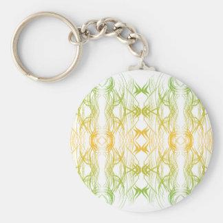 Modern Pattern Key Ring